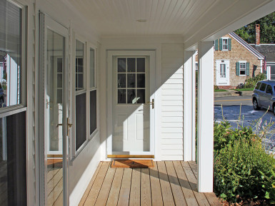 remodeled porch